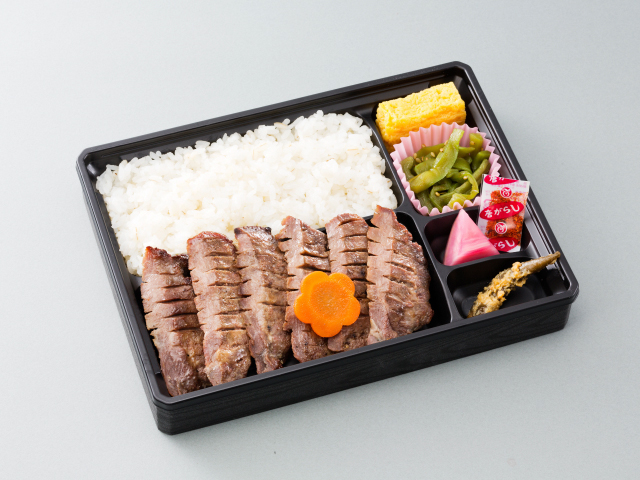 仙台名产 牛舌便当 1,350日元(含税)