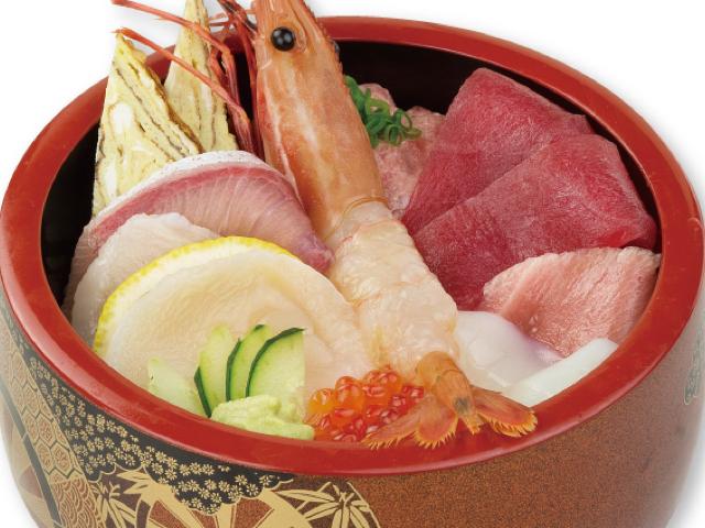 海鲜散寿司