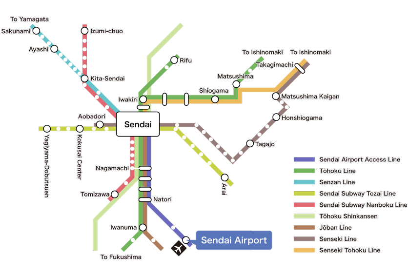 Suburban Railway Route Map