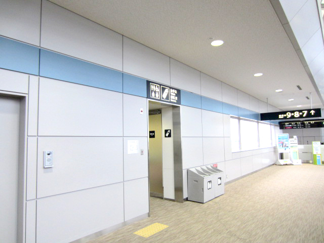 Domestic Boarding Area on the Second Floor (controlled area after Security)