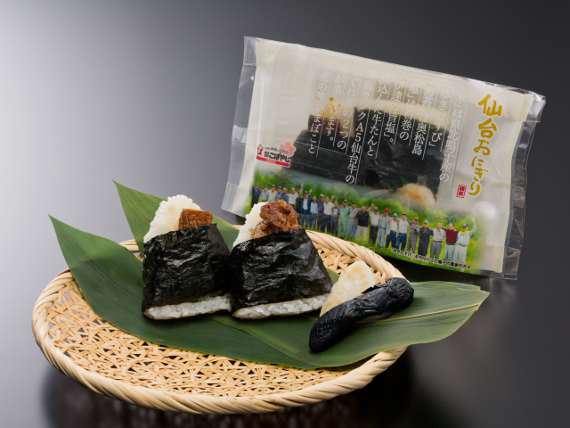 Sendai Onigiri (rice balls) 550 (incl. tax)