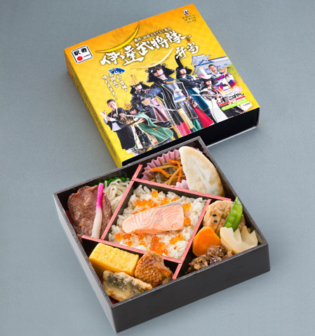 Date Busho-tai Bento Box 1,100 (incl. tax)