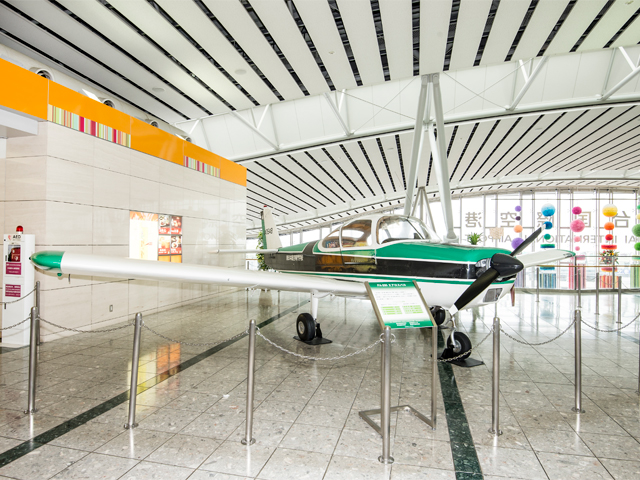 Showcase of small aircraft