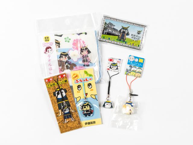 Local character merchandise