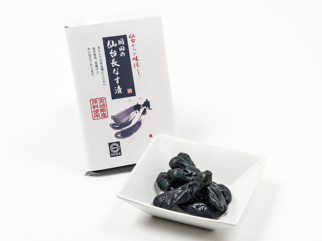 "Okada's ""Sendai Naganasu-zuke"" (with ingredients from Miyagi prefecture)"