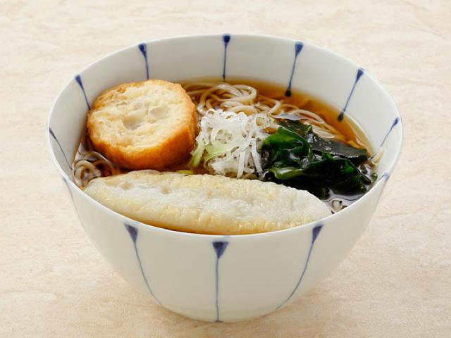 Sendai Soba (buckwheat noodles) / Udon (wheat noodles)