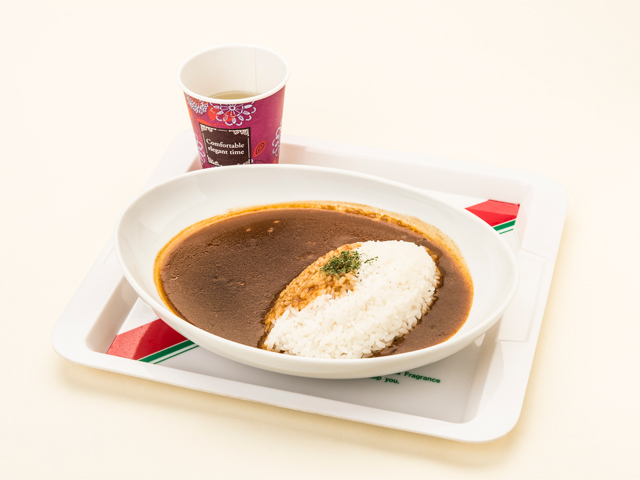 Beef Curry with Soup