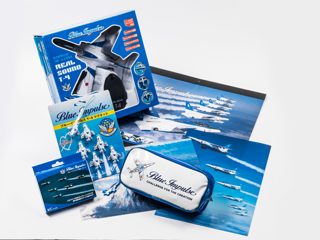 Blue Impulse-related goods