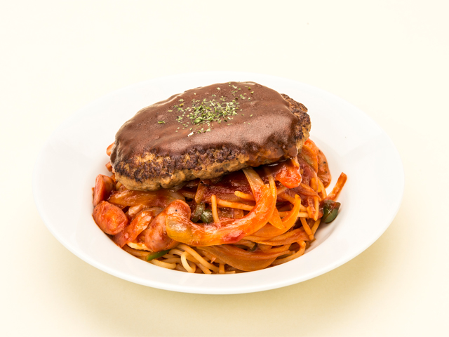 Neapolitan with Hamburger
