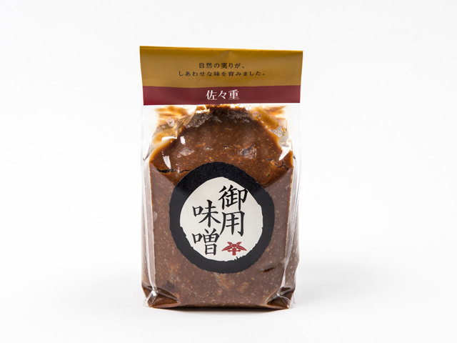 Sendai Miso Paste 1Kg gasset bag