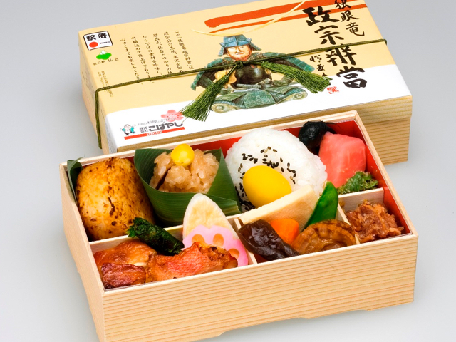 One-eyed Dragon Masamune Bento Box 1,100 (incl. tax)
