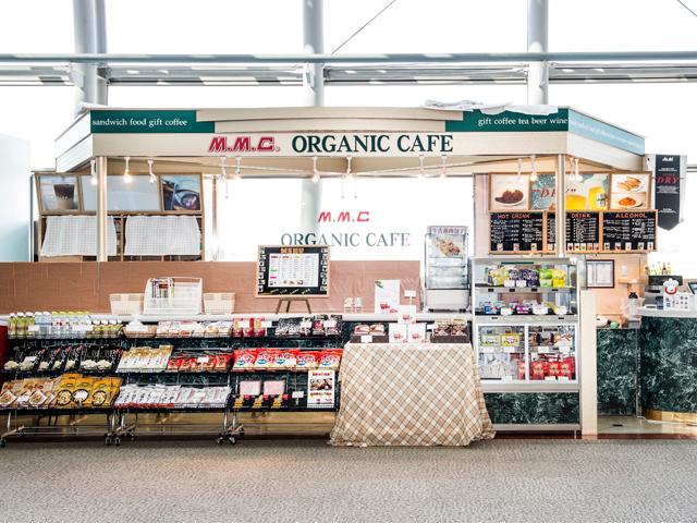 MMC ORGANIC CAFÉ, AT INTERNATIONAL DEPARTURE LOBBY|Sendai