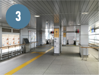 Connection of Sendai Airport Station / Terminal Building