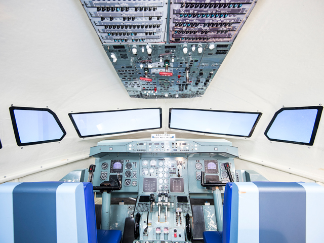 항공기 조종석 탑승 체험
