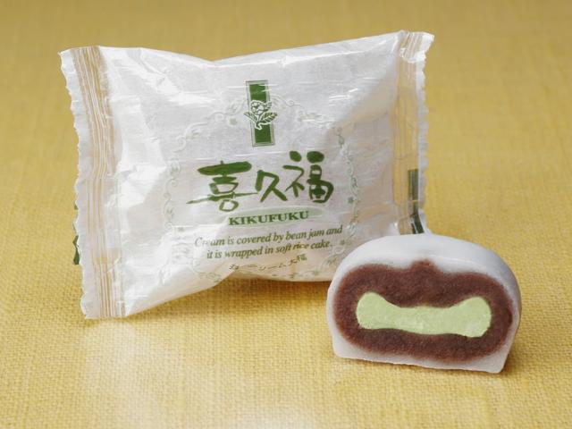 喜久福(抹茶、毛豆沙)