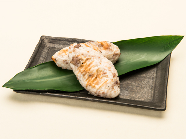 手烤牛舌竹葉魚糕