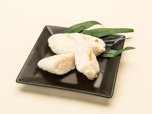 手烤乳酪竹葉魚糕
