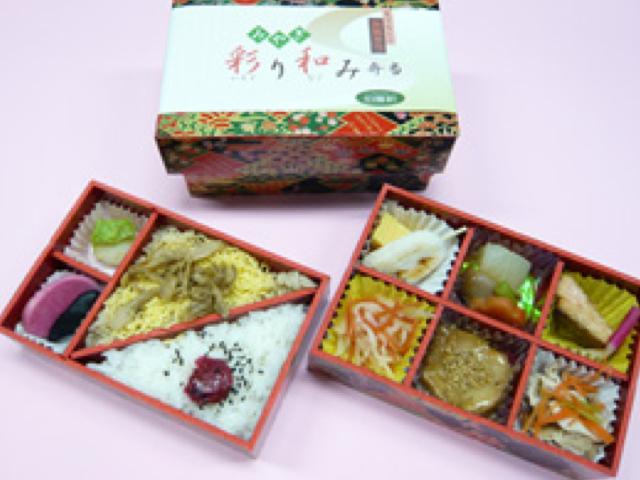 みやぎ彩り和み弁当 1,100円(税込)