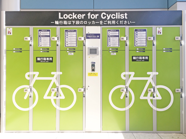 Bicycle box lockers