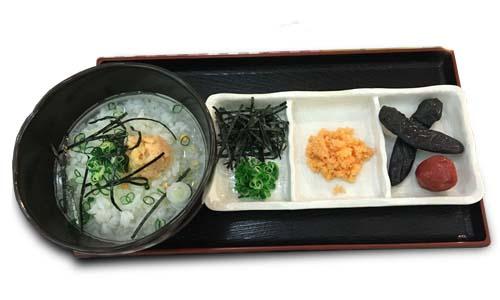 減農薬米のお茶漬け