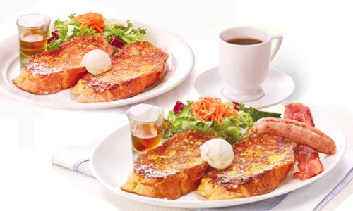 フレンチトースト/フレンチトースト ソーセージ&ベーコン