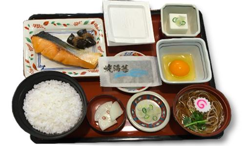 丸松朝定食