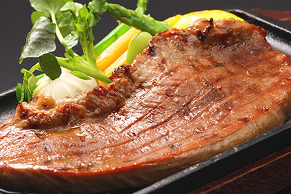 牛たんステーキ塩味/青葉亭