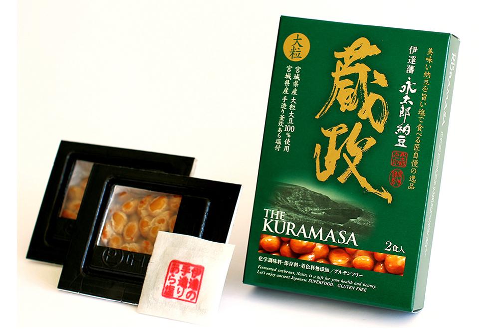 蔵政納豆/グリーンパール納豆