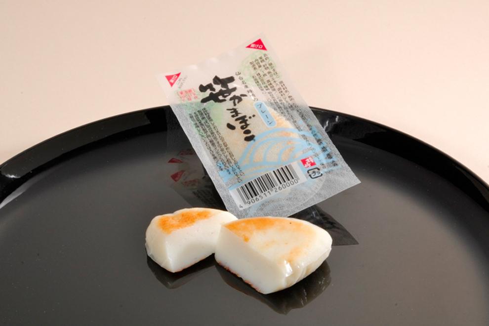 笹かまぼこプレーン 8枚包/鐘崎