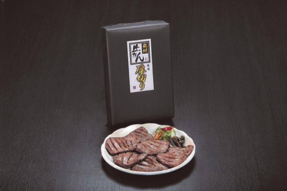 奥州牛たん本舗 牛たん厚切り 塩240g/プリンス食品