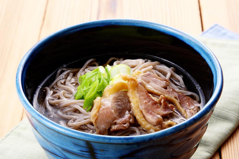 冷たい肉そば/酒井製麺所