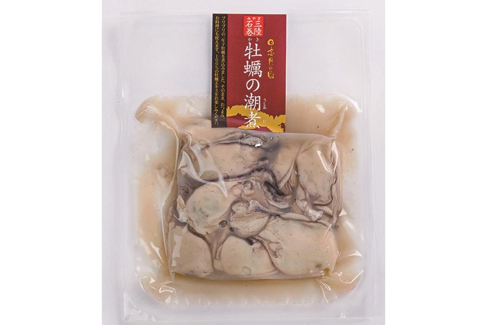 牡蠣の潮煮/末永海産
