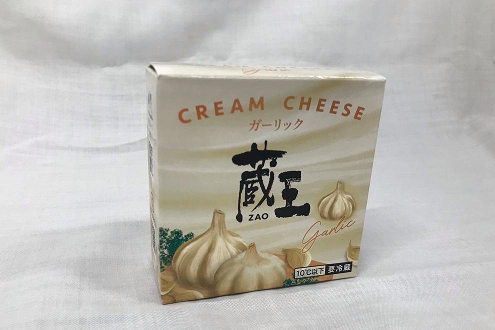 蔵王クリームチーズ ガーリック/蔵王酪農センター